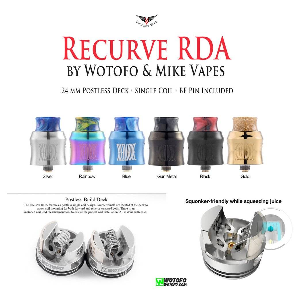 Wotofo Wotofo Recurve RDA