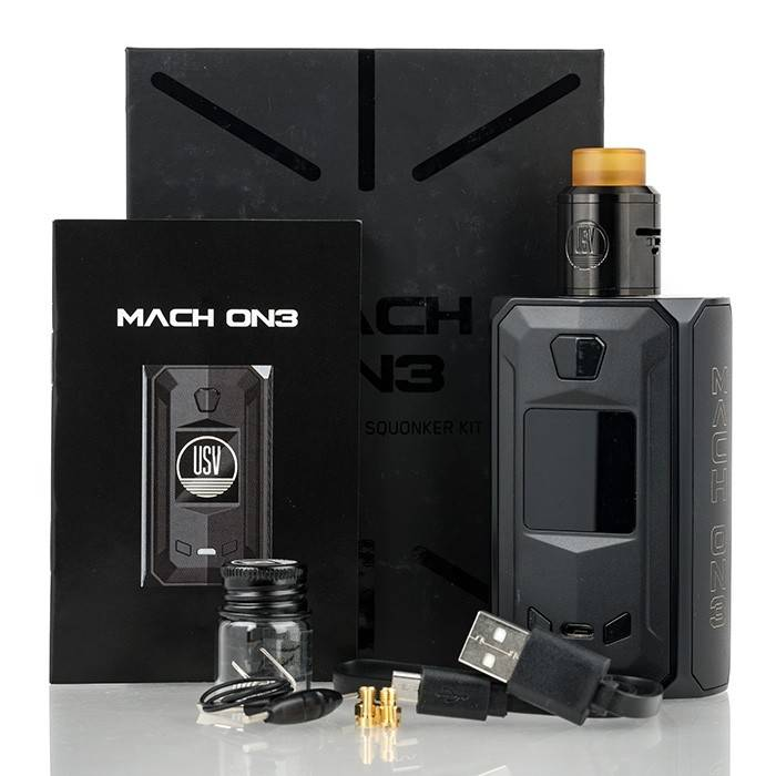 United Society of Vape Mach On3 Squonk Kit