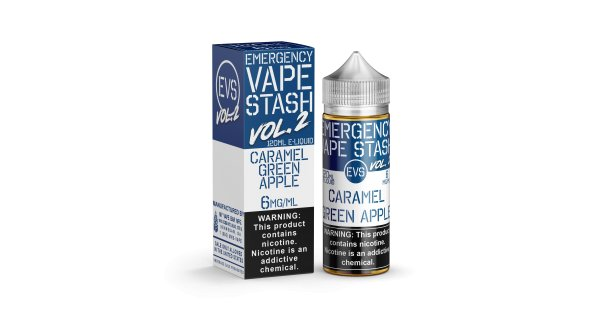 Emergency Vape Stash Caramel Green Apple by Emergency Vape Stash