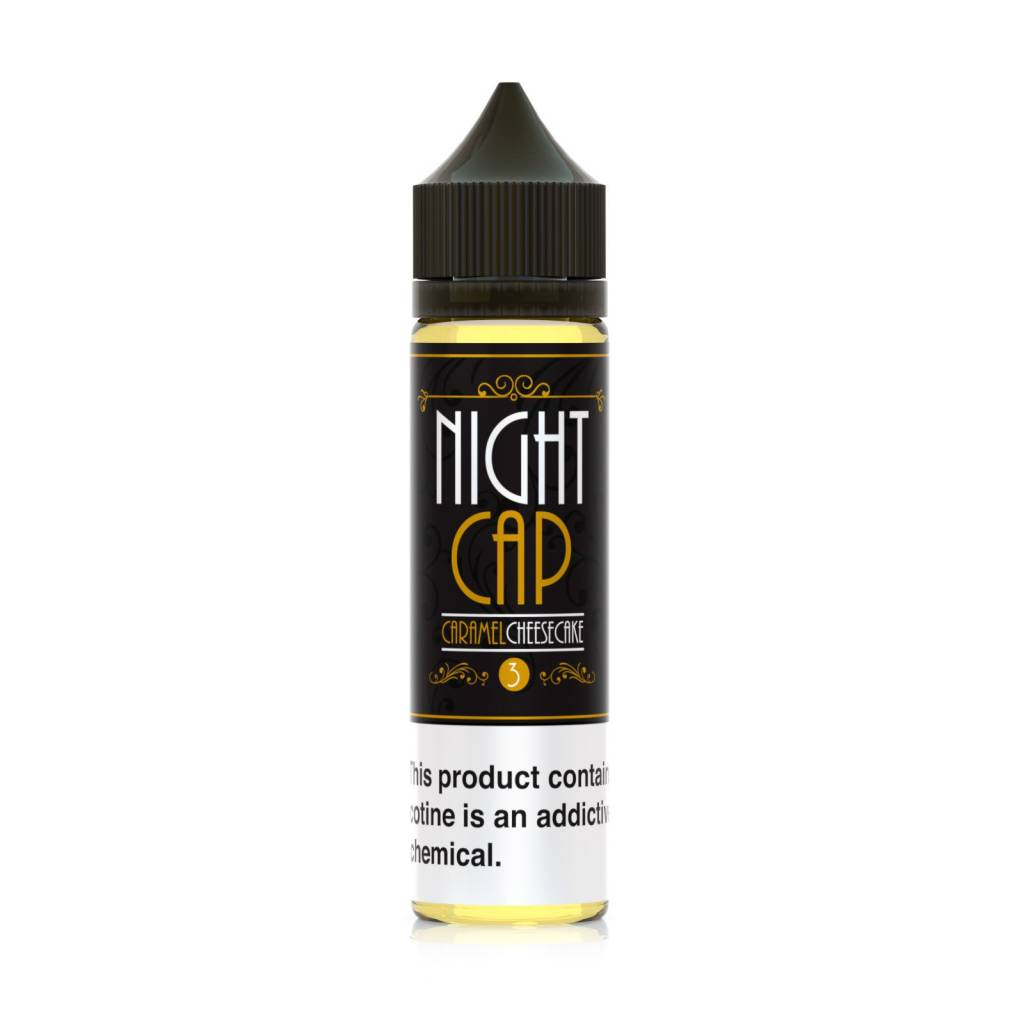Night Cap Eliquid Night Cap Eliquid Caramel Cheesecake 60 ML