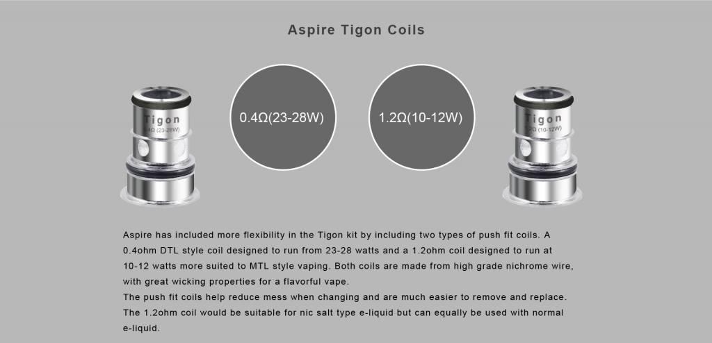 Aspire Aspire Tigon Replacement Coils 5 pack