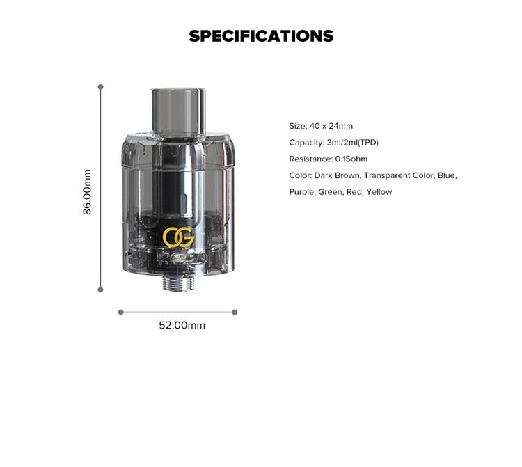 Sikary OG Disposable Tanks 3 Pack