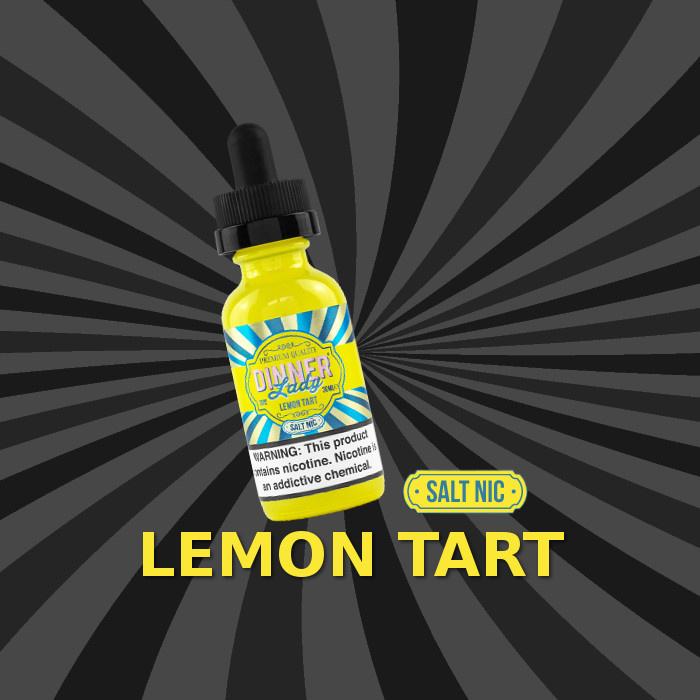 Dinner Lady Dinner Lady Lemon Tart Salt 30ML