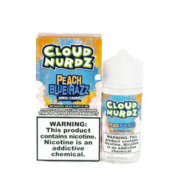 Cloud Nurdz Cloud Nurdz Peach Blue Razz 100ML