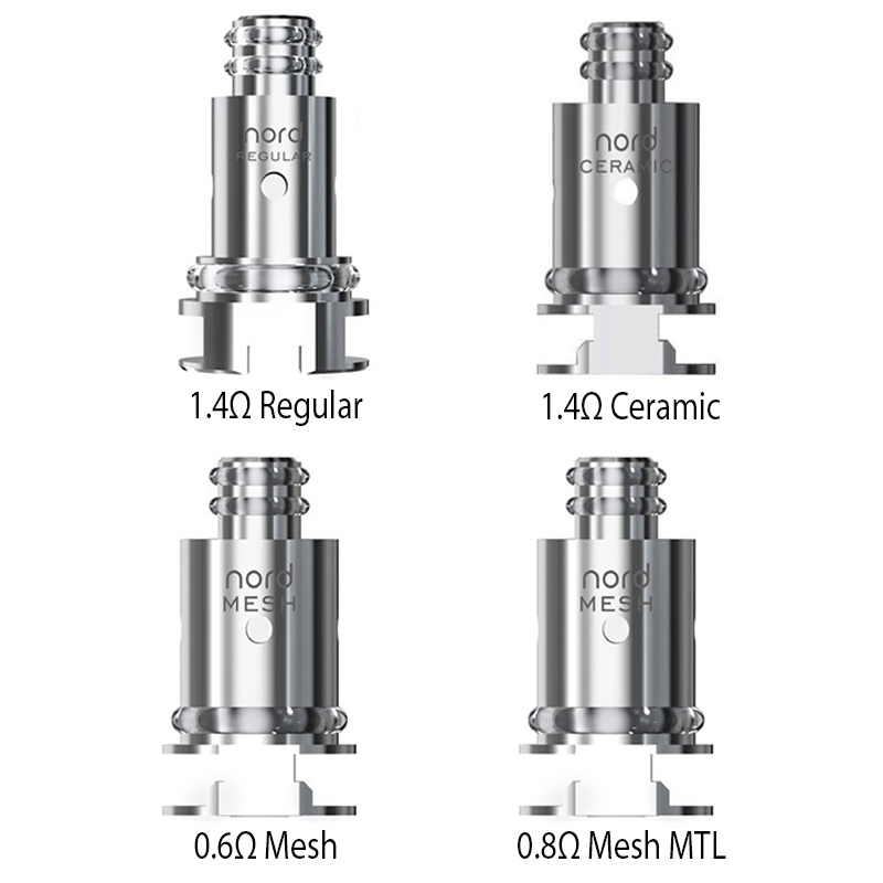 Nord 0.8 MTL Mesh Coils 5 Pack