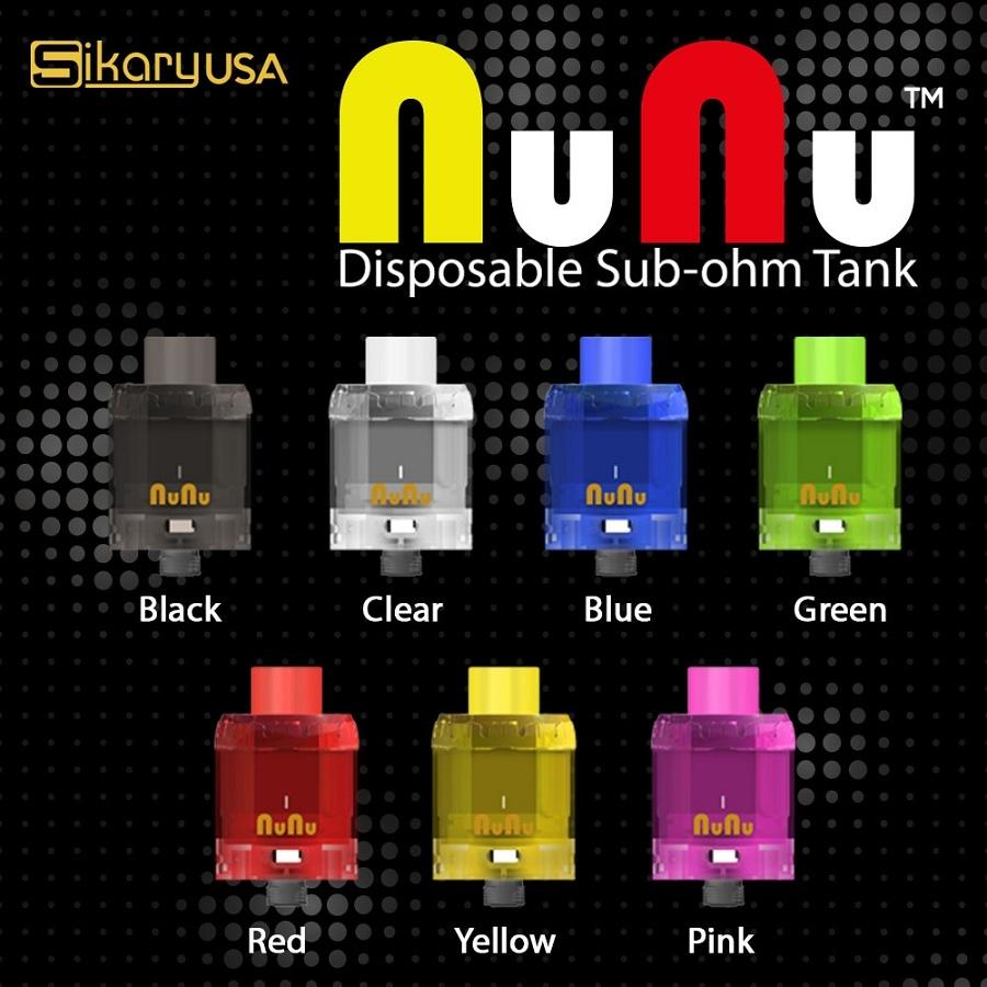 Sikary NUNU Disposable Tank 3pk