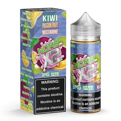 Lotus Vaping Noms X2 120mL Kiwi Passionfruit Nectarine