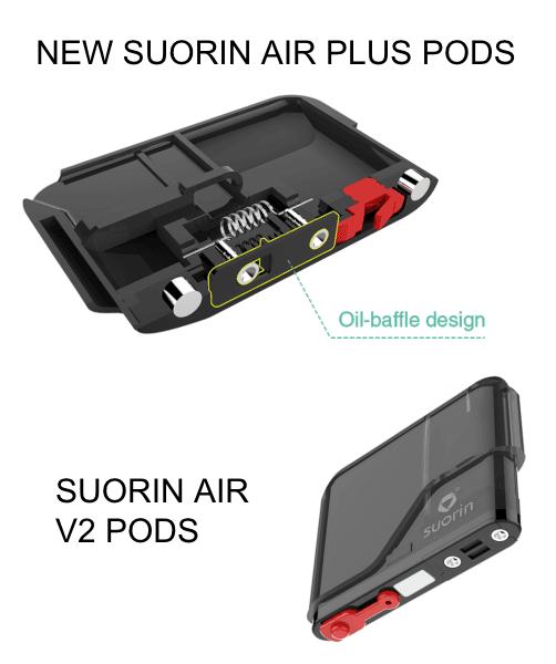 Suorin Suorin Air Plus Replacement Pod
