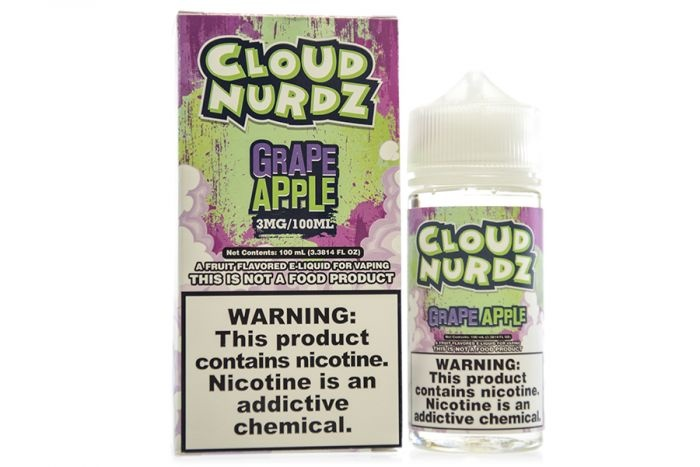 Cloud Nurdz Cloud Nurdz Grape Apple 100 mL