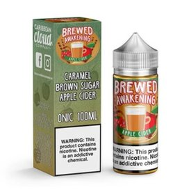 Caribbean Cloud Company Brewed Awakening Apple Cider 100 ML