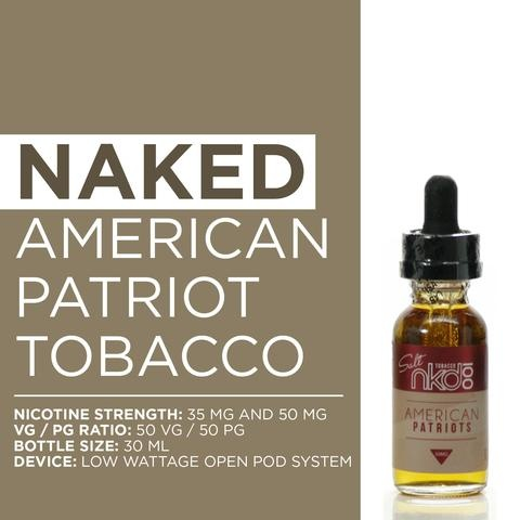 Naked 100 American Patriots 60ml