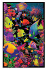 "Opticz Living Reef Blacklight Poster 23""x35"""