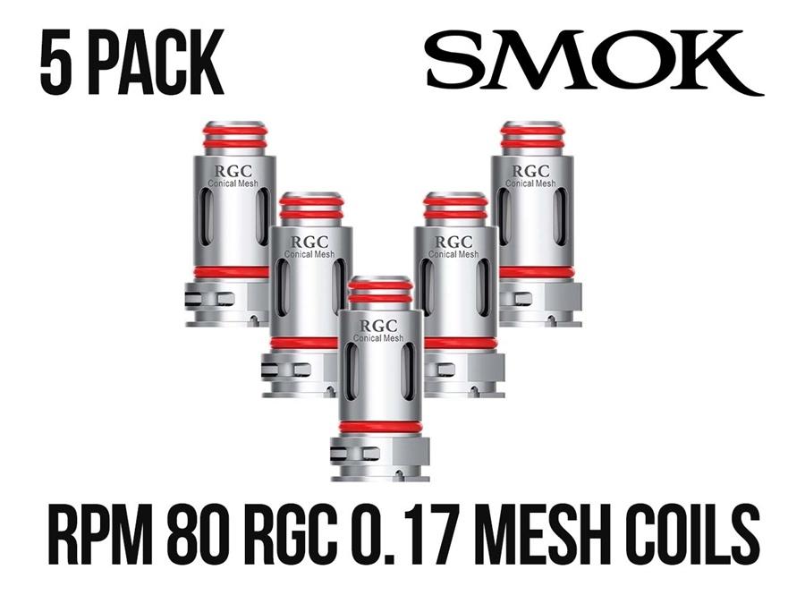 Smok RPM80 RGC 5 Pack Coils