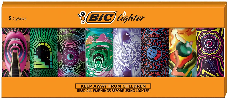 BIC prismatic lighter