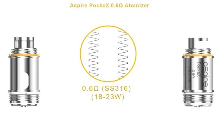 Pockex Coils 5pack
