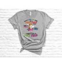 Dasha Alexander Fuck Fuck Here T-Shirt