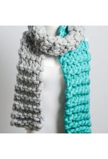 Leto Accessories Oversized Knit Scarf
