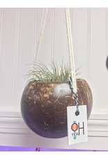 Oh Yeah Gifts Coconut Macrame Plant Hanger