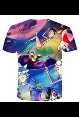 Rick & Morty 3D Printed T-Shirt