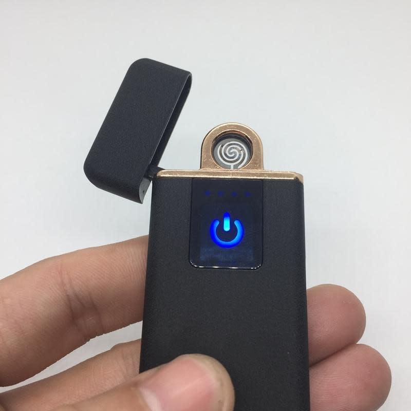 USB Rechargeable Zinc Alloy Travel Lighter