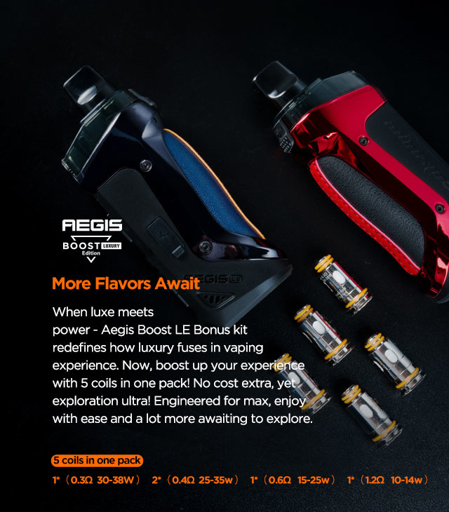 Geekvape Boost Luxury Edition Pod Kit