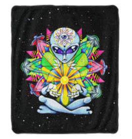 Pulsar Fleece Throw Blanket