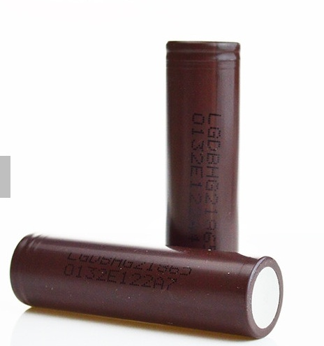 LG HG 2 18650 Battery Brown