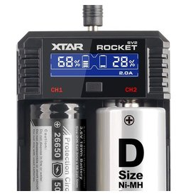 Xtar XTAR SV2 Rocket Battery Charger