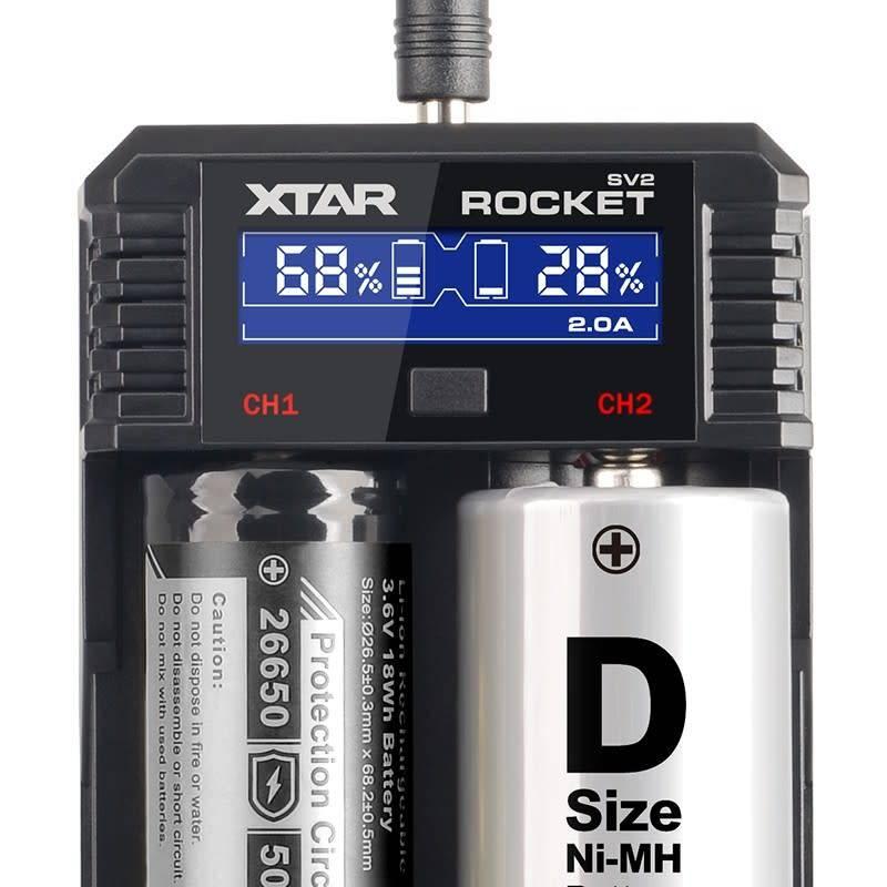 XTAR SV2 Rocket Battery Charger