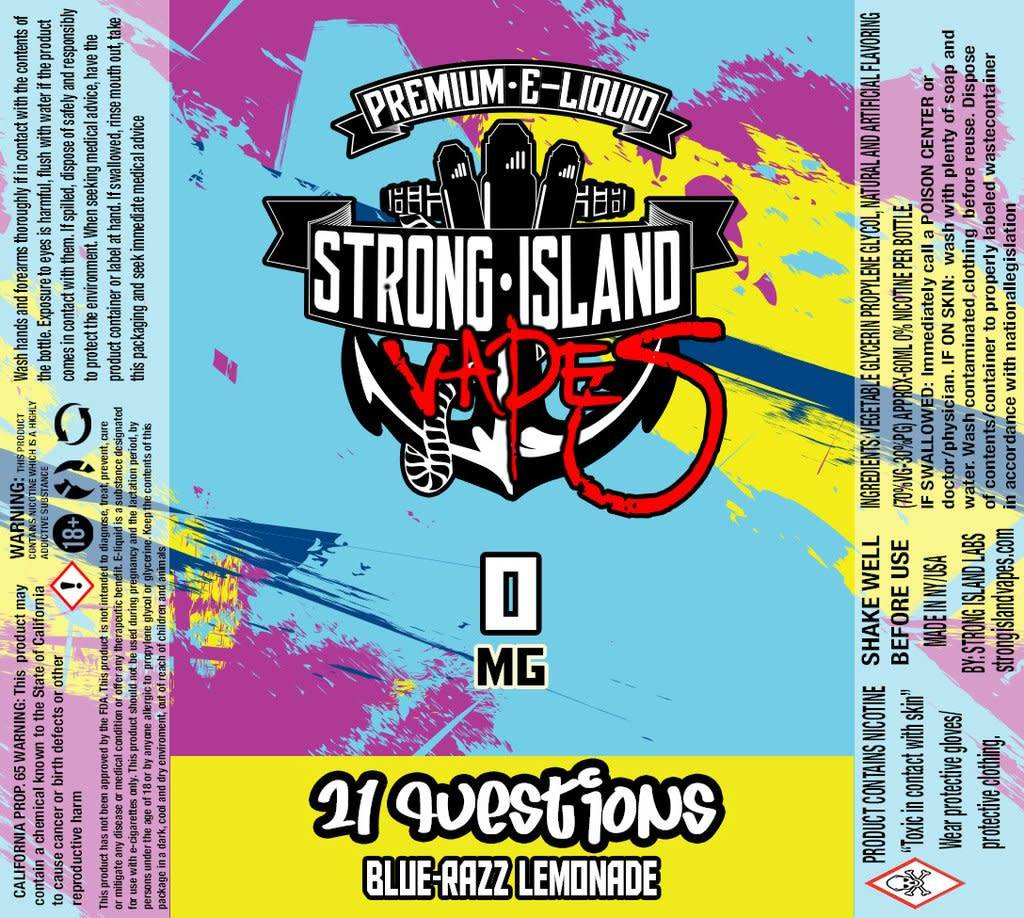 Strong Island 21 Questions 60 ML