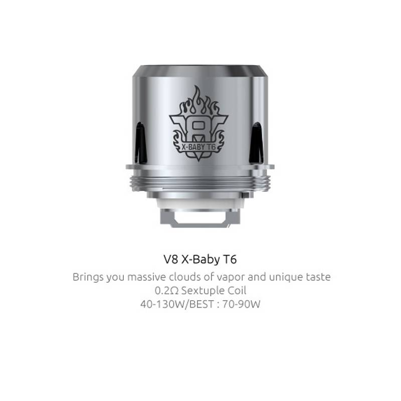 Smok X Baby T6 Coils 3 Pack