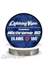 Lightning Vapes Lightning Vapes Ni 80 Wire 10 Ft