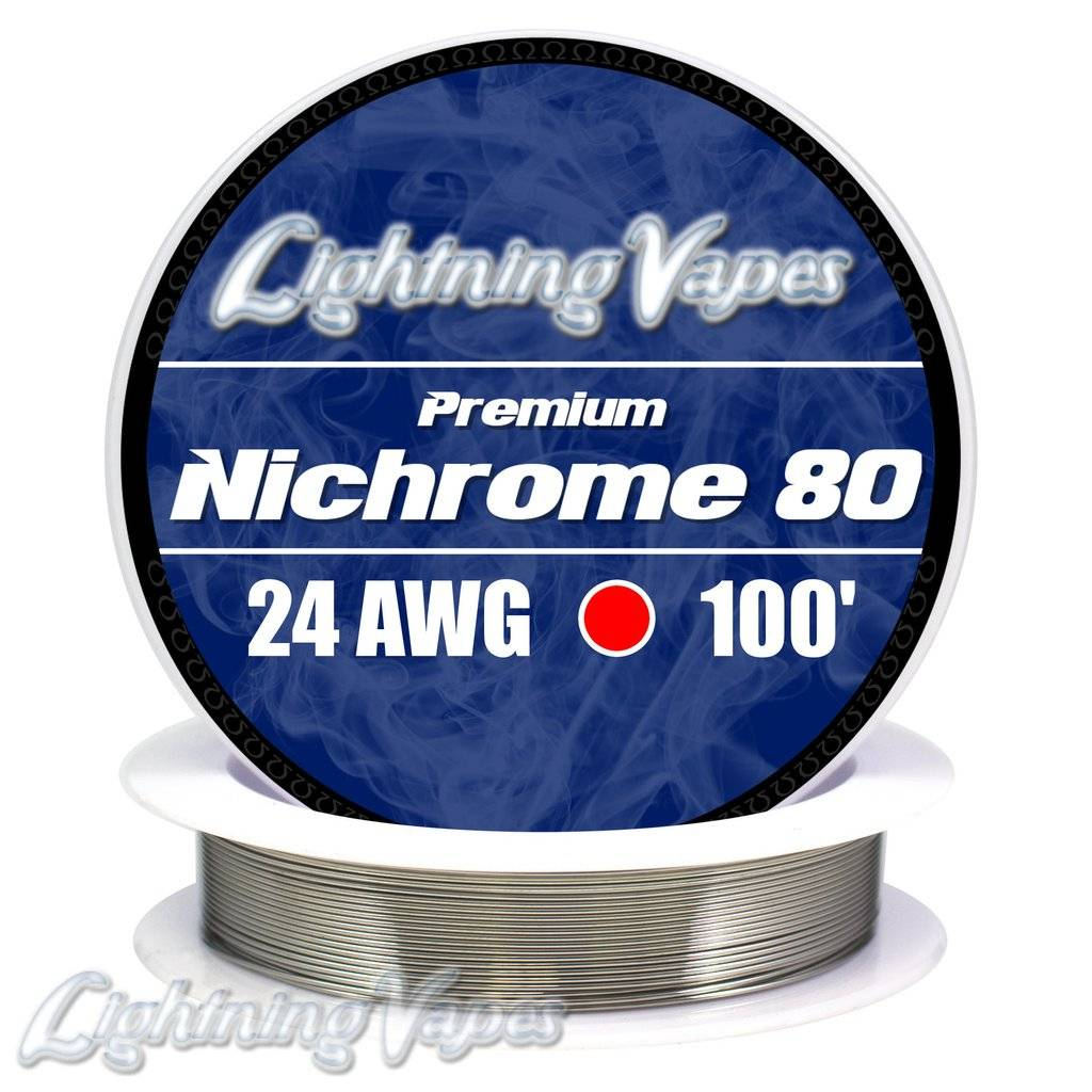 Lightning Vapes Ni 80 Wire 10 Ft