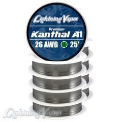 Lightning Vapes A1 Kanthal 26G  Wire 25 Ft