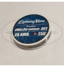 Lightning Vapes Lightning Vapes Ni 80 28G Wire 250Ft