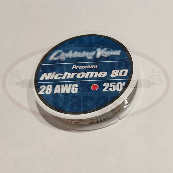 Lightning Vapes Ni 80 28G Wire 250Ft