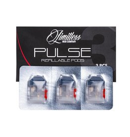 Limitless Limitless Pulse Replacement Pods 3 Pack