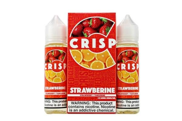 Crisp Crisp Strawberine 120ML