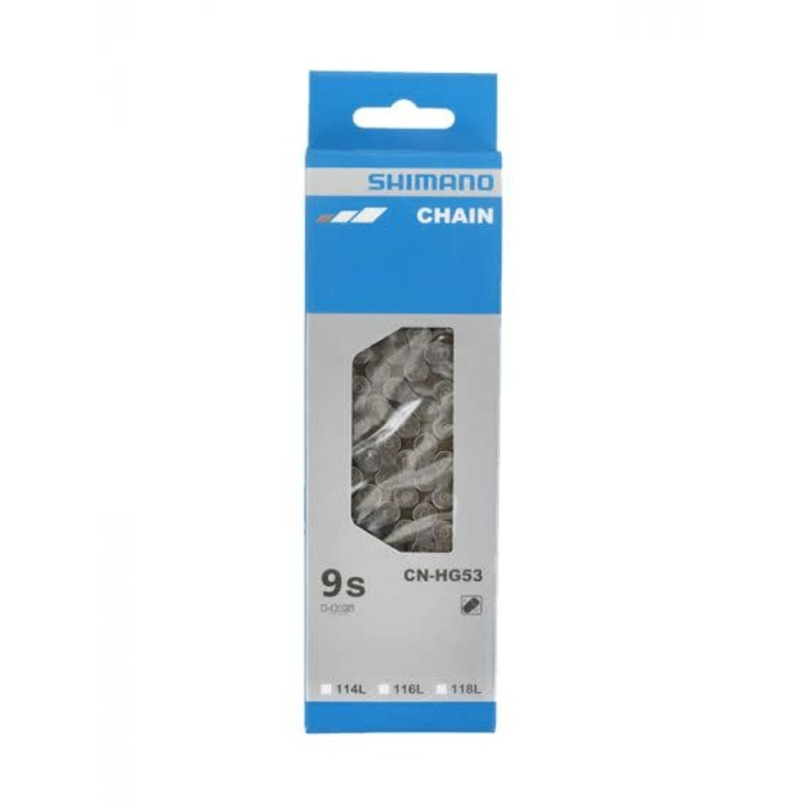 Shimano CN-HG53, Chaine, 9vit., 116 maillons