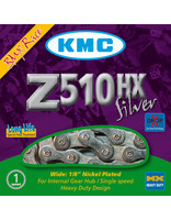 "KMC Z510HX Chain 1/8"" 116 Links, Silver"