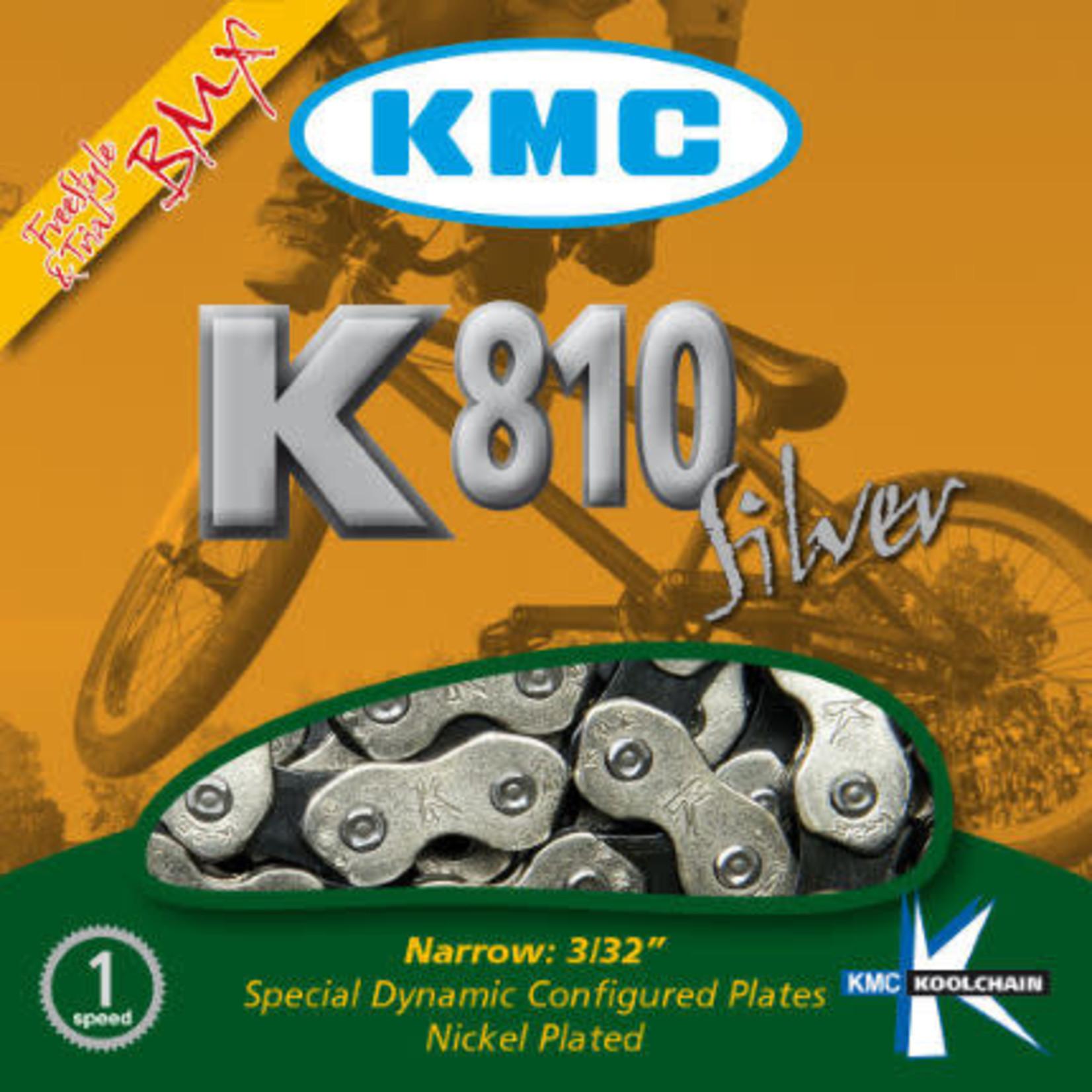 K810 BMX Chain 1/2'' X 3/32'', 112 Link