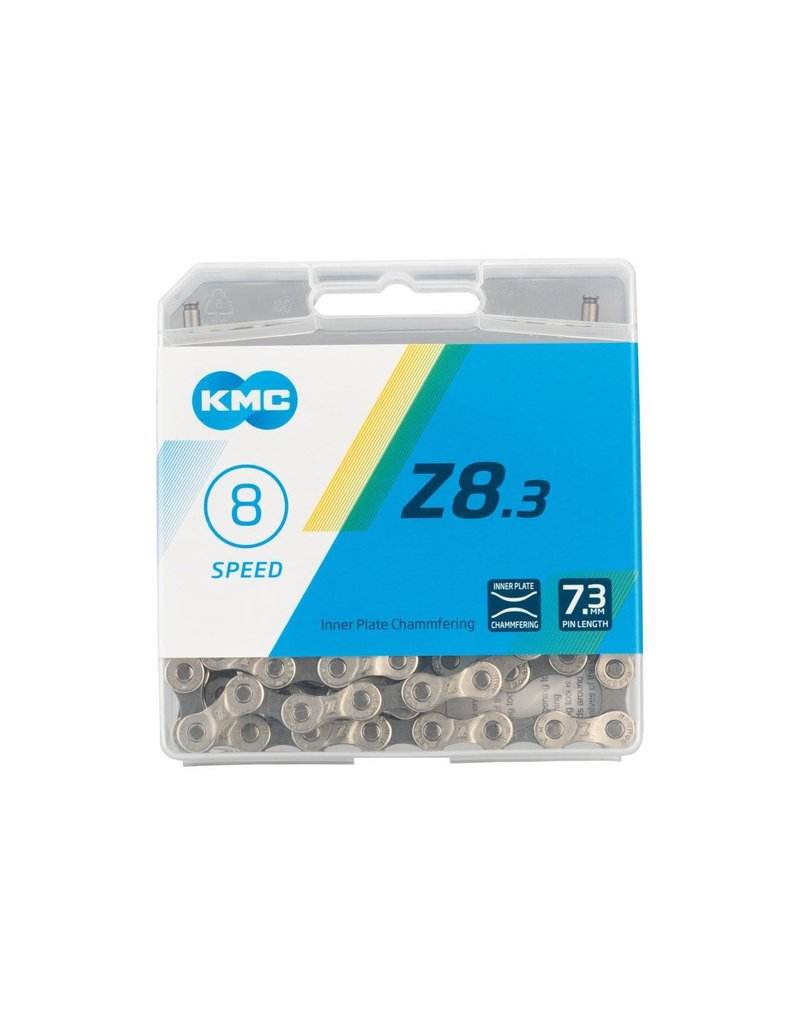 KMC Z8.3, Chain, Speed: 6/7/8, 7.3mm, Links: 116, Silver