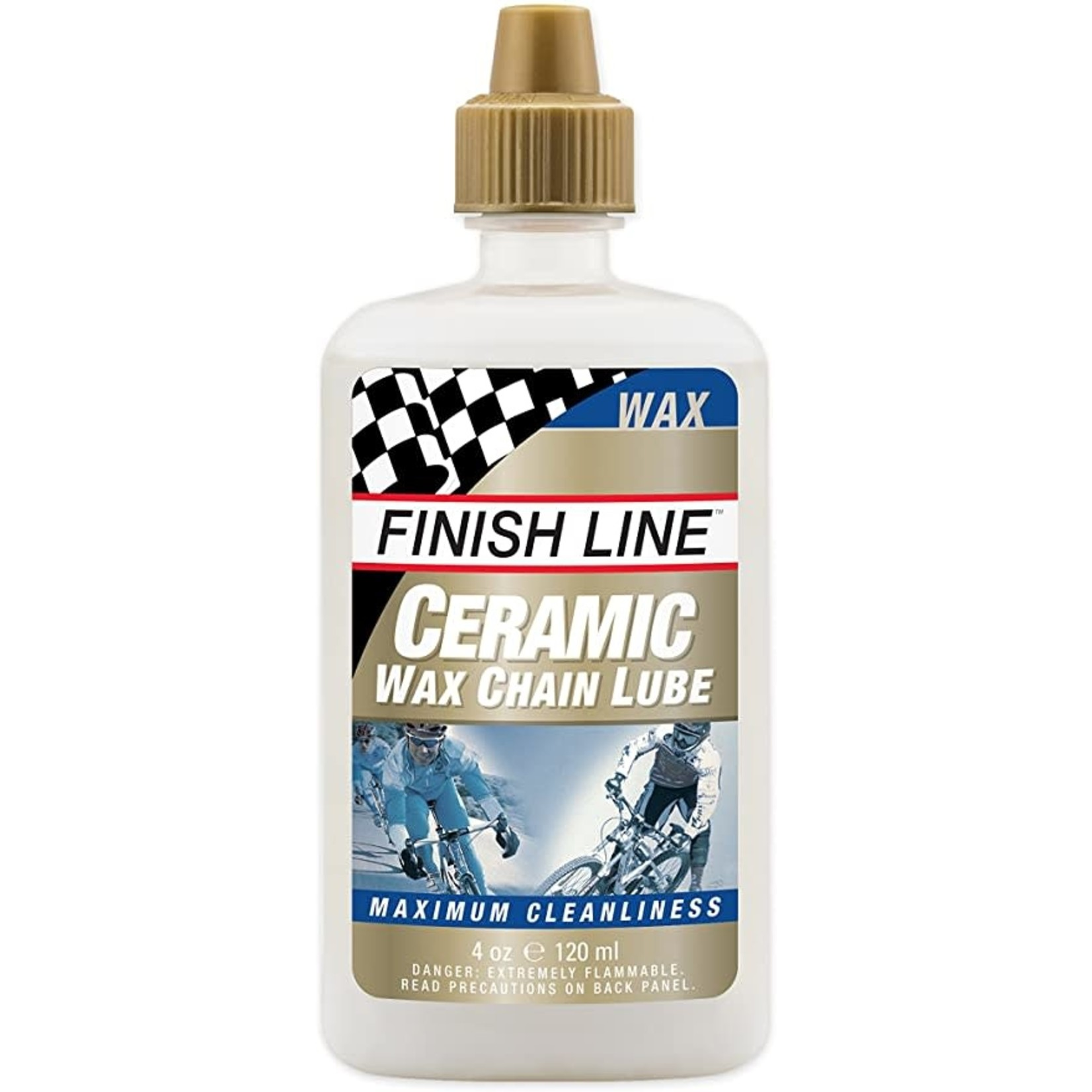 Finish Line CERAMIC WAX LUBE 4OZ