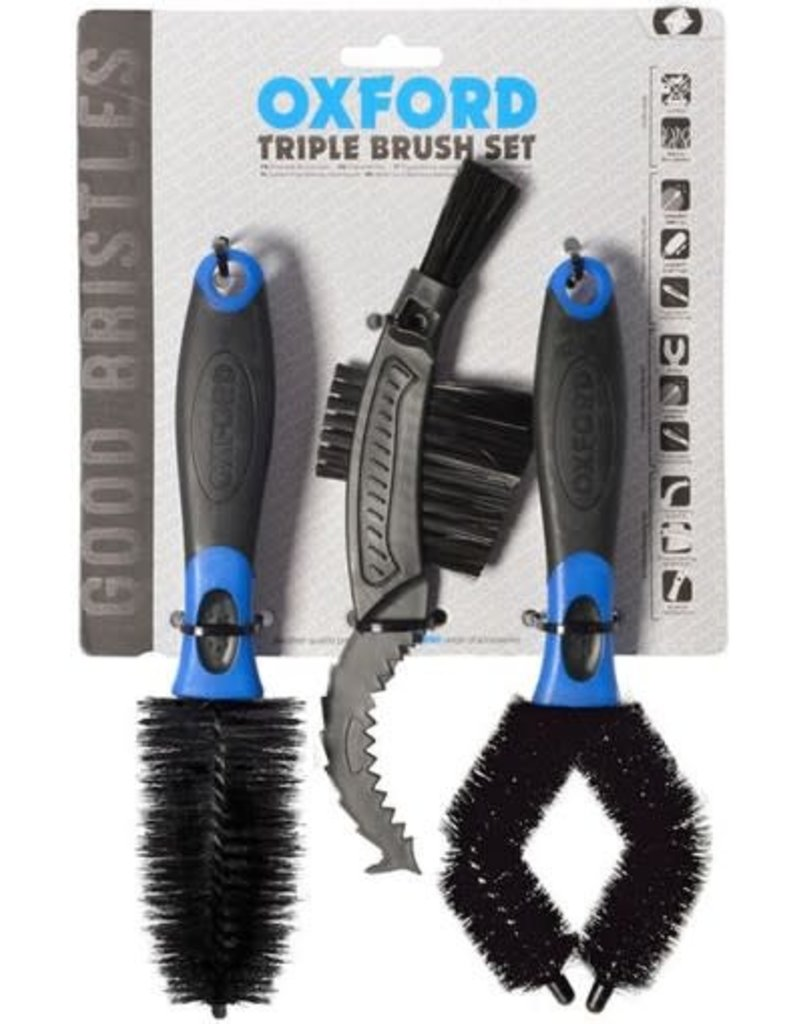 Oxford Triple Brush Set