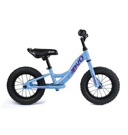 Evo EVO, Beep Beep, Push Bike, 12-1/2'', Blue