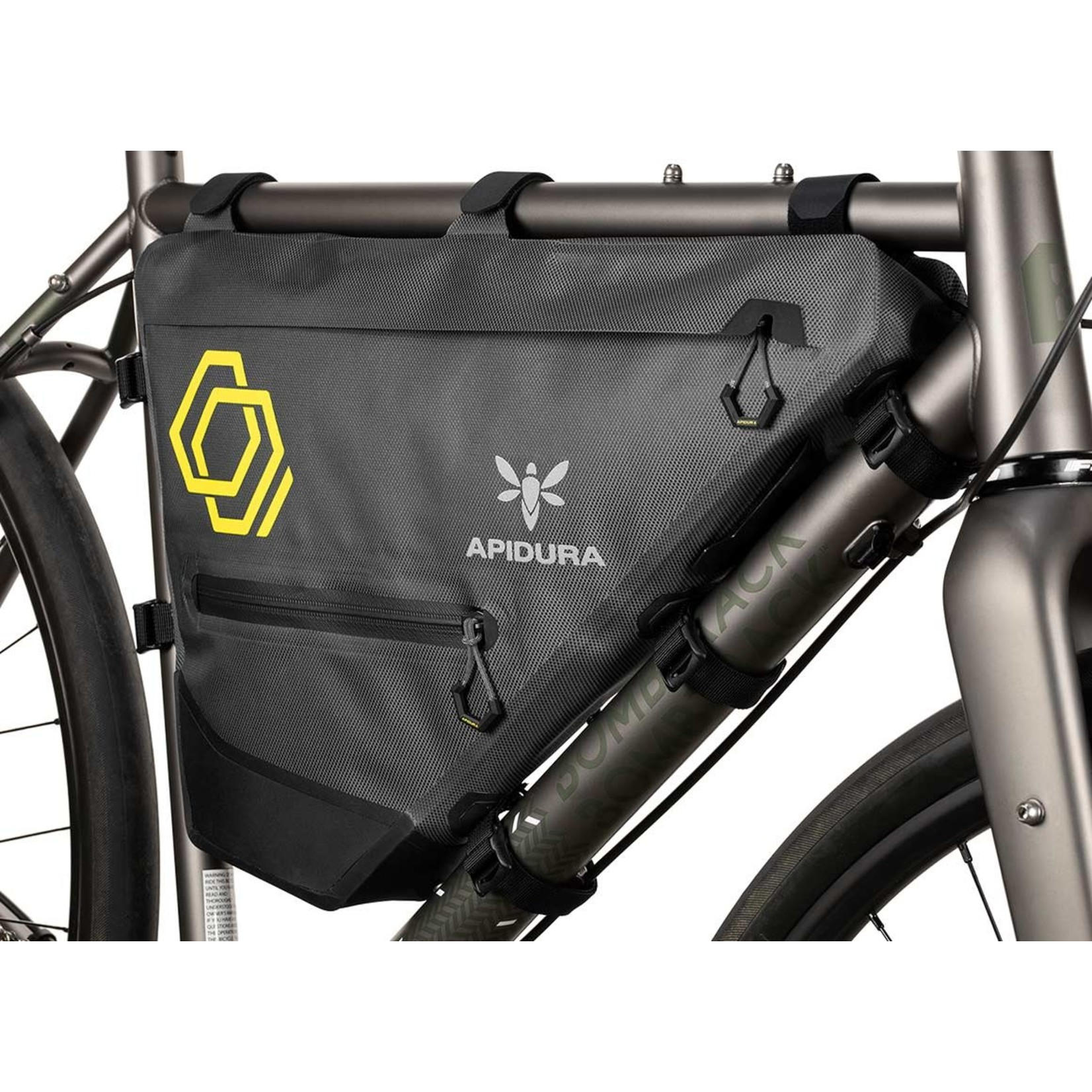 Apidura Apidura Expedition Full Frame Pack, 7.5 Litre (touring/bikepacking/randonneur/commuter bag)
