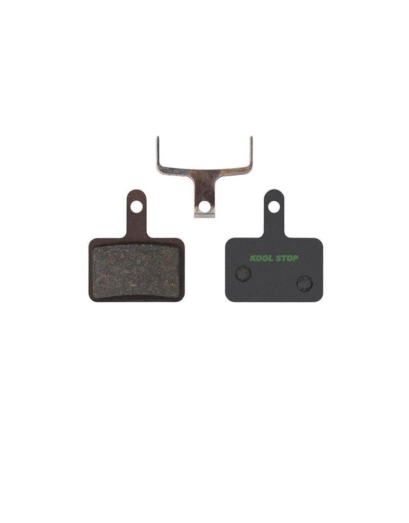KOOL-STOP Kool-Stop Shimano Organic M575/M495 Disk Brake Pads, Ceramic Plate, E-Bike Compound, w/ Spring, #KS-D620E