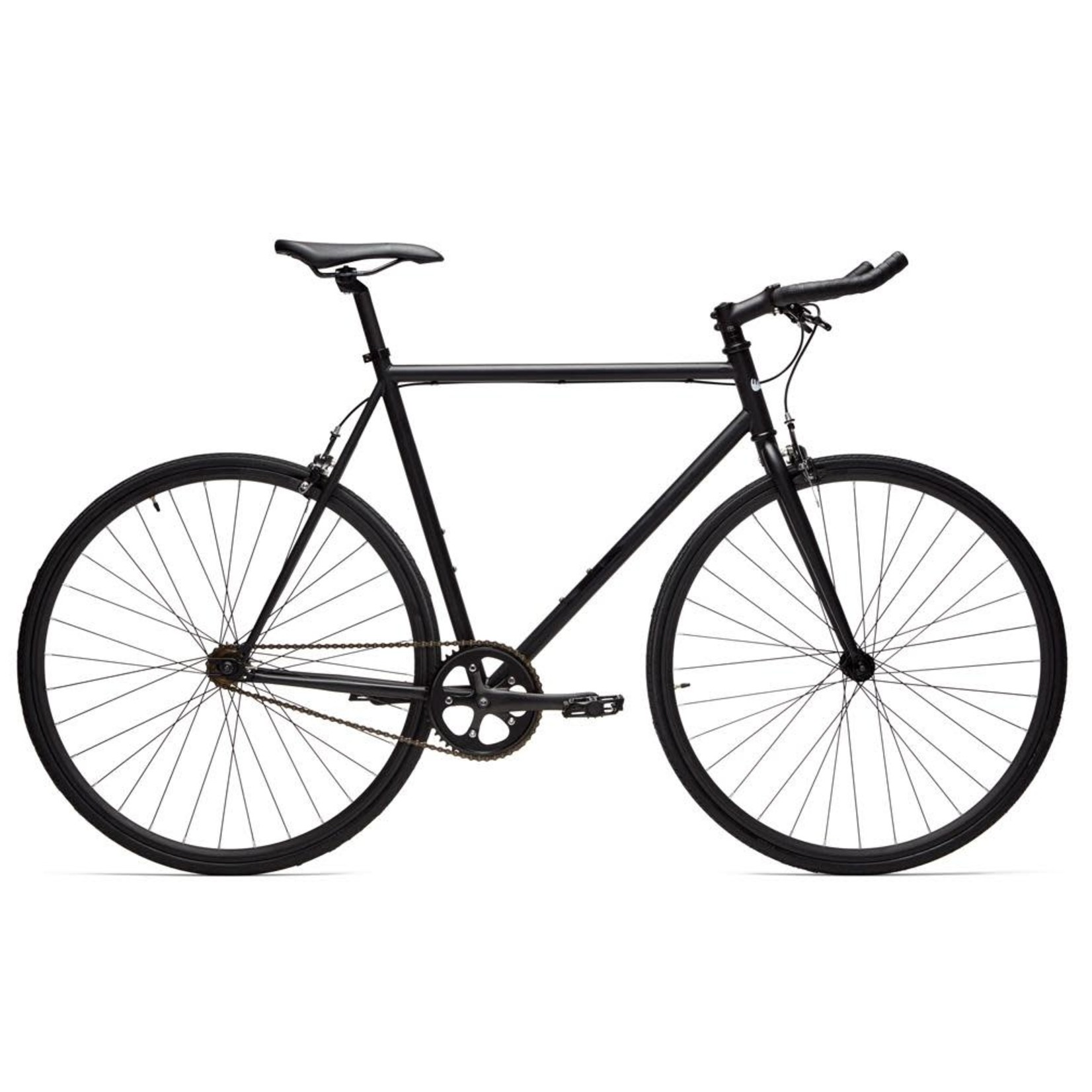 Moose Bicycle Fixie Porter (Matte Black) 58cm