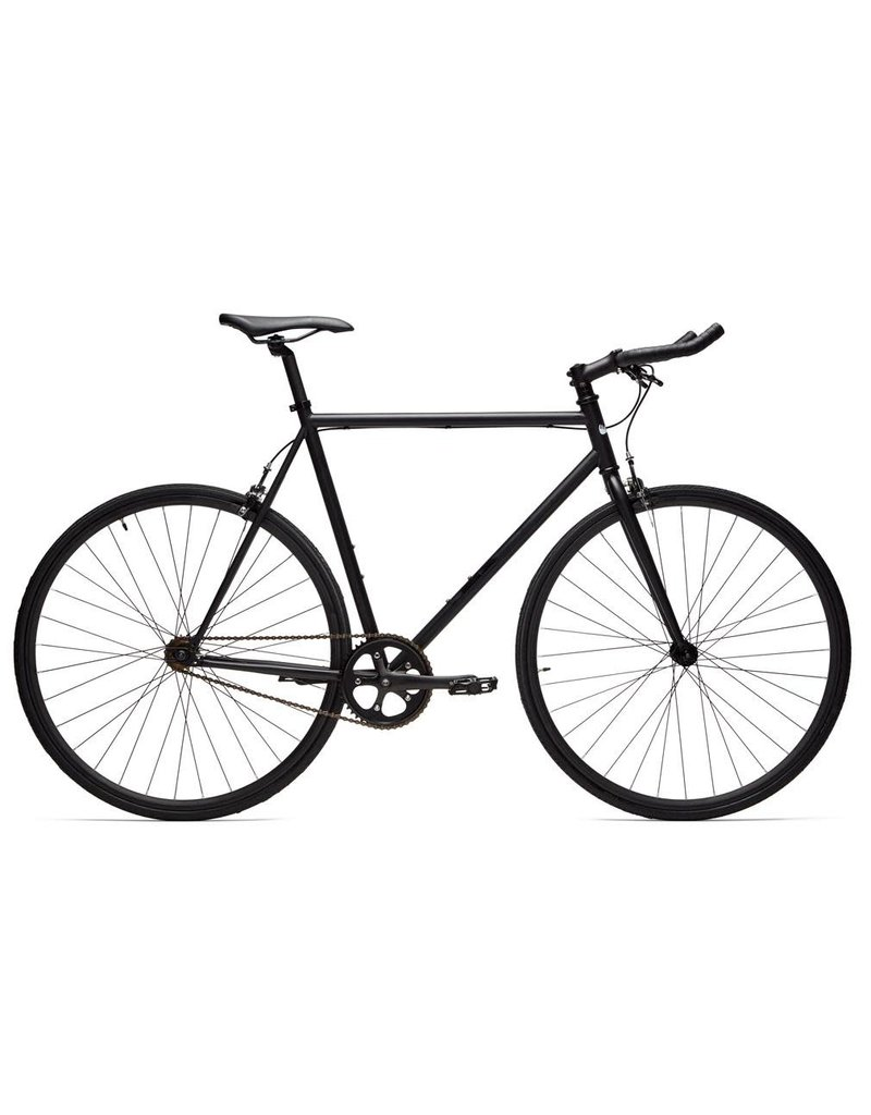 Moose Bicycle Fixie Porter (Matte Black) 58cm