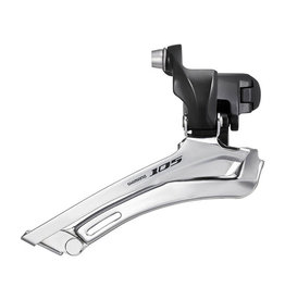 Shimano 105 FD-5700-L, Derailleur avant, 2x10vit., Down Swing, Down pull, Collet 34.9mm, Noir